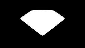 Błękitny diament ilustracja wektor