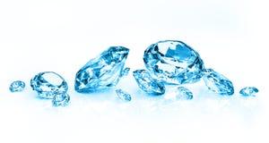 błękitny diamenty zdjęcia royalty free