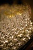 błękitny dof szkieł płycizny wino Zdjęcia Royalty Free