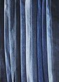 błękitny drelich Obraz Royalty Free