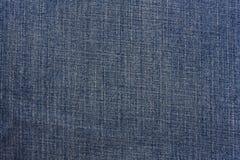 błękitny drelichowa tekstura Zdjęcia Royalty Free