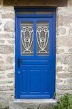 Błękitny drzwi Zdjęcie Royalty Free