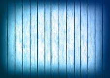 Błękitny drewniany panelu projekta tekstury tło Obraz Royalty Free