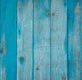 Błękitny drewniany tło zdjęcie royalty free