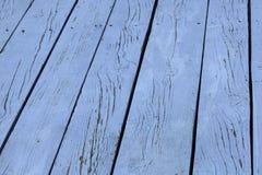 Błękitny drewniany tło Zdjęcie Stock