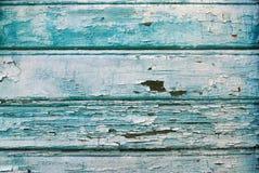 Błękitny drewniany tło Zdjęcia Stock