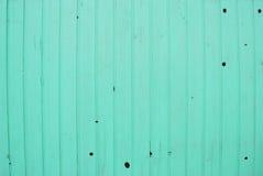 Błękitny drewniany tło, stara drewniana ściana Obraz Royalty Free