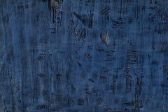 Błękitny drewniany textured tło projekt obrazy royalty free