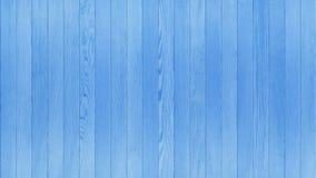 Błękitny drewno stół, Drewniany tekstury tła Odgórnego widoku 16:9 współczynnik zdjęcie stock