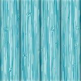 Błękitny drewno textured deski Ilustracja Wektor