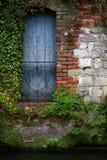 błękitny drzwi Zdjęcia Stock