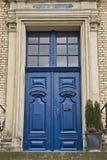 błękitny drzwi obrazy royalty free