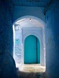 Błękitny drzwi II Fotografia Royalty Free