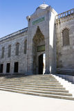 błękitny drzwiowego wejścia Istanbul meczetu indyk Obraz Stock