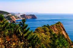 Błękitny duży morze Zdjęcie Royalty Free