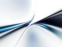 błękitny dynamiczny liniowy ruch Obrazy Stock