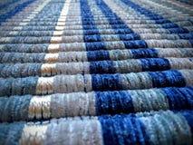 Błękitny dywanik obrazy stock