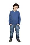 błękitny dziecka koszula whit zdjęcie stock