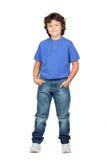błękitny dziecka koszula whit obraz royalty free