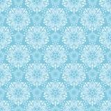 Błękitny elegancki wzór ilustracja wektor
