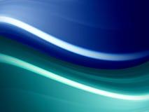 błękitny fala Obraz Royalty Free