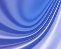 Błękitny Falisty abstrakcjonistyczny silky tło ilustracja wektor
