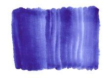 Błękitny folwarczek akwareli gradientu tło Zdjęcie Royalty Free