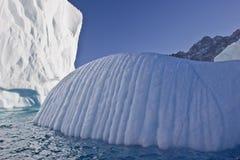 błękitny góra lodowa Obraz Stock