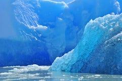 błękitny góra lodowa Zdjęcie Stock