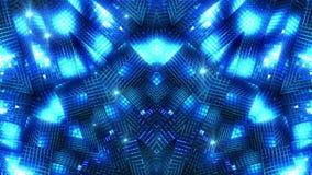 Błękitny geometrii tło royalty ilustracja