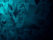 Błękitny geometryczny tło 9 Zdjęcie Royalty Free