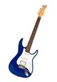 błękitny gitara elektryczna Zdjęcie Stock