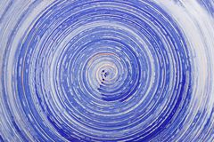 Błękitny glosy tło z spirala wzorem obraz stock