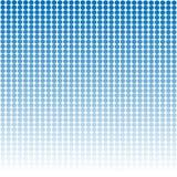 Błękitny grafika wzoru projekta tło z białymi round kropkami ilustracja wektor