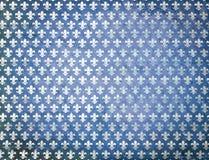 Błękitny grunge adamaszka tło Fotografia Stock