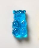 Błękitny Gumowaty niedźwiedź obrazy royalty free