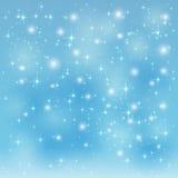 Błękitny gwiaździsty tło Zdjęcie Stock