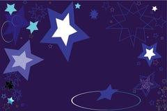 błękitny gwiazdy Zdjęcia Stock