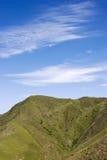błękitny halny niebo Obraz Stock