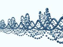 Błękitny Helix Zdjęcia Stock