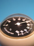 błękitny higrometr fotografia royalty free