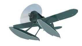 Błękitny hydroplan 3 d czynią ilustracji