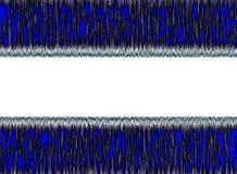 Błękitny i Biały Abstrakcjonistyczny tło Zdjęcie Stock