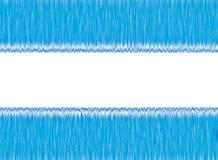 Błękitny i Biały Abstrakcjonistyczny tło Obrazy Royalty Free