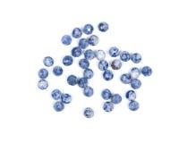 Błękitny i biały sodalite Obraz Royalty Free