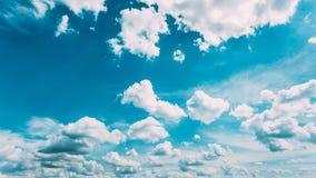 Błękitny I biel Colours nieba tło Obraz Stock