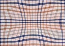 Błękitny i brown abstrakcjonistyczny tekstylny tło royalty ilustracja