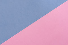 Błękitny i różowy pastelowy tło z kopii przestrzenią Zdjęcia Stock