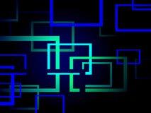 błękitny ilustracja Obrazy Stock