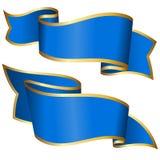 błękitny inkasowy faborek Obraz Royalty Free